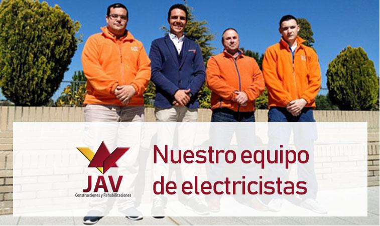 equipo de electricistas