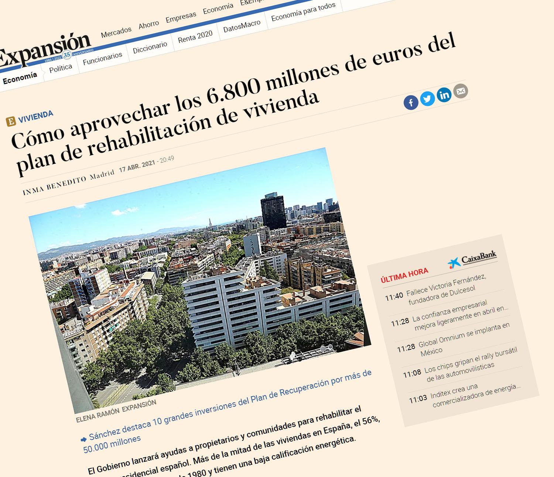 Cómo aprovechar los 6.800 millones de euros del plan de rehabilitación de vivienda | Economía (expansion.com)